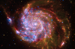 M101 Hubble Spitzer Chandra